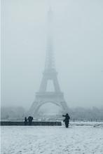 Eiffel Tower In Paris, France ...