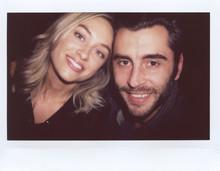 Beautiful Smiling Couple On Po...