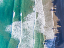 An Aerial View Of The Beautiful NZ Coast