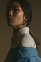 Portrait/fashion Of Glamorous Female/model.