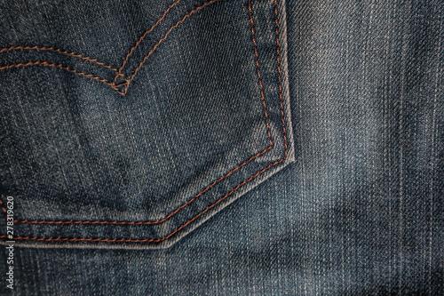 Pinturas sobre lienzo  Jeans of texture background