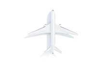 Blank White Aeroplane Mock Up ...