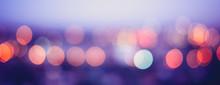 City Lights Blur Bokeh