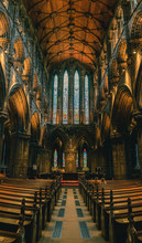 Pews In Glasgow Cathedral