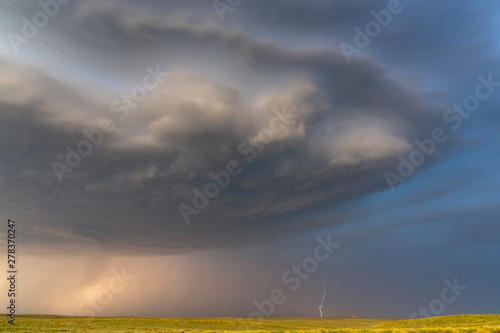 фотография Supercell in Nara Visa, New Mexico, USA