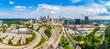 Atlanta, Georgia, USA Downtown Skyline Aerial Panorama