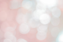Abstract Pink Bokeh With Soft ...