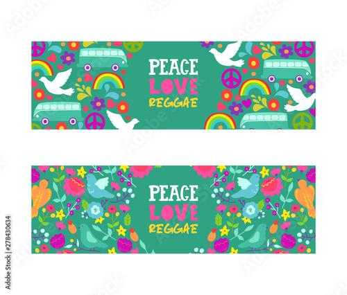 Fotografía Hippie peace symbol
