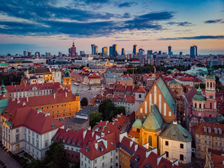 Fototapeta Warszawa Warszawa Stare Miasto