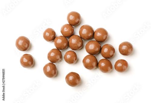 Foto op Canvas Bol Chocolate balls
