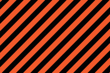 Illustration Of Orange And Black Stripes.a Symbol Of Dangerous And Radioactive Substances.The Sample Is Widely Used In Industry.