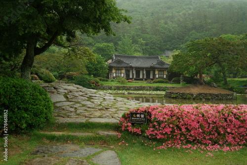 Foto op Plexiglas Groene Ullimsanbang old house of South Korea