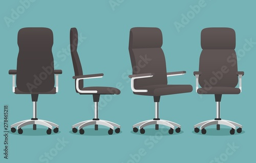 Fotografia, Obraz  Empty office chair