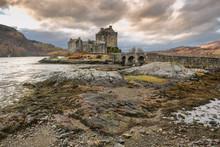 Beautiful Eilean Donan Castle Taken In Highlands, Scotland