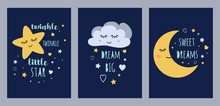 Dream Sleep Cards Set For Baby...