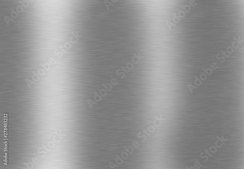 Printed kitchen splashbacks Metal brushed metal background