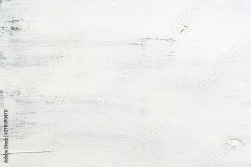 White painted wood texture Fototapet