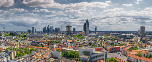 frankfurt city seen from north - 278499404