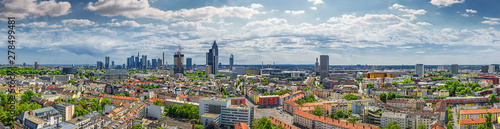 frankfurt city seen from north - 278499481