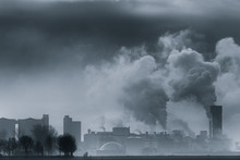 A Chemical Plant Polluting The...