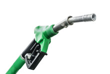Gas Station. Fuel Pump Nozzle ...