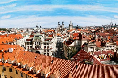 Prague Skyline seen from Petrin Hill #278517235