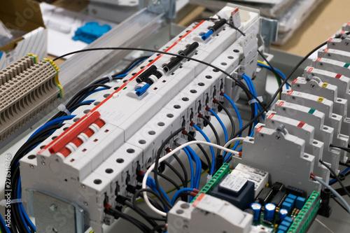 Elettricità Canvas Print
