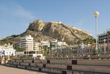 Seafront Promenade At Alicante, Spain