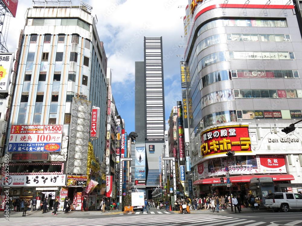 Fototapeta 新宿歌舞伎町の風景 Shinjuku Kabukicho