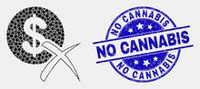 Dot Forbidden Dollar Mosaic Ic...