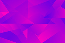 Abstract Luminous Triangle Overlay Vector Background