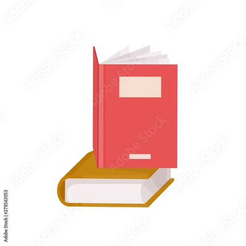 Pair of hardcover books Fototapet