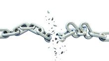 Broken Chain Isolated Separati...