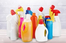 Plastic Bottles And Cleaning E...