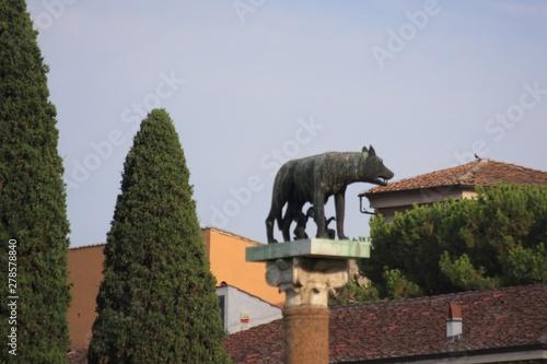 la louve romaine à Pise Fototapet