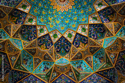 moroccan mosaic decoration Canvas