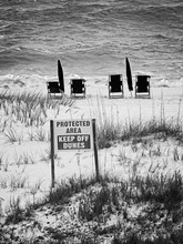 Protected Area And Beach Chair...