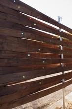 Self Made Garden Fence, Shining Glass Ball