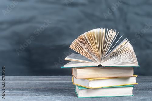 Obraz na plátně  Educational concept