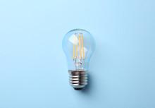 New Modern Lamp Bulb On Light ...