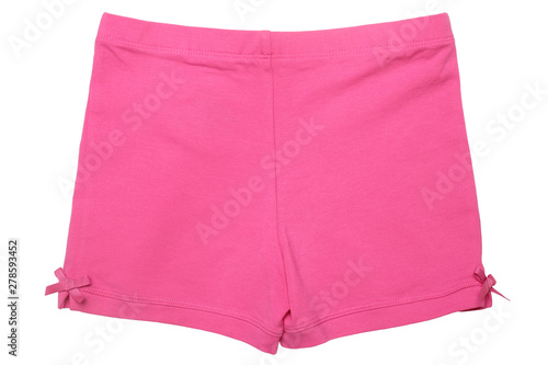 Children's wear - pink shorts - 278593452