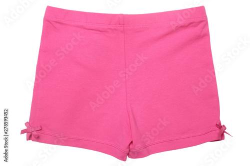 Valokuvatapetti Children's wear - pink shorts