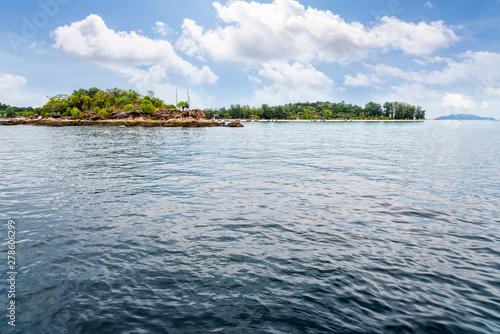Fototapeta Beautiful nature landscape Ko Talang island and Koh Lipe island in the Andaman S