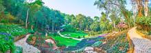 Visit Mae Fah Luang Arboretum, Doi Chang Moob, Chiang Rai, Thailand