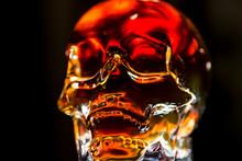 Glass Skull With Backlight. Gl...