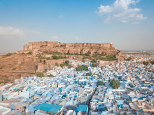 Aerial View Of Mehrangarh Fort...