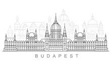 Budapest City Skyline - Hungar...