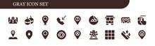 Gray Icon Set