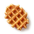 canvas print picture - freshly baked belgian waffle