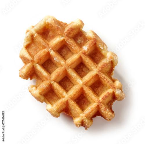 Fotomural freshly baked belgian waffle